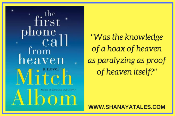 the first phone call from heaven book quote
