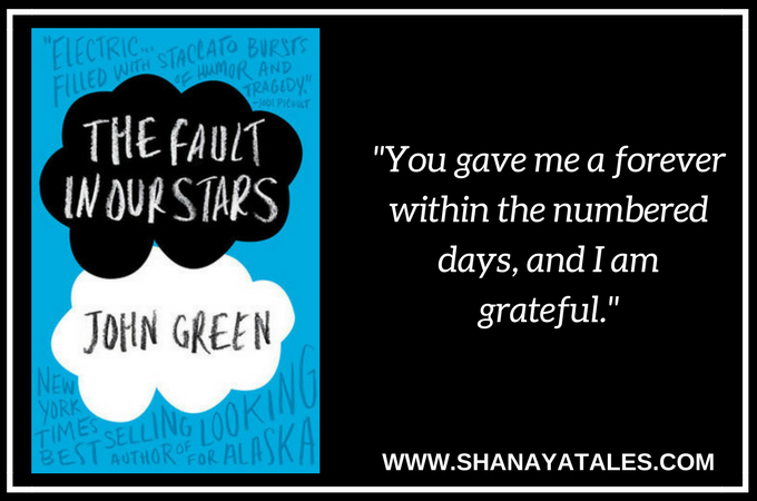 the fault in our stars book quote