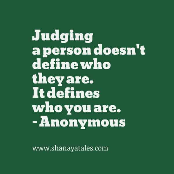 Do not Judge. The truth might surprise you. #AtoZChallenge 2015 @AprilA2Z