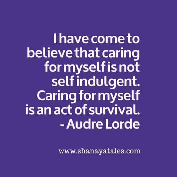 Nurture Yourself. Be your own Mother.  #AtoZChallenge 2015 @AprilA2Z