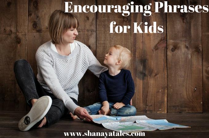 Encouraging Phrases For Kids