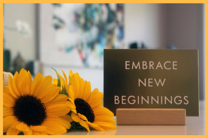 Why We Must Embrace New Beginnings