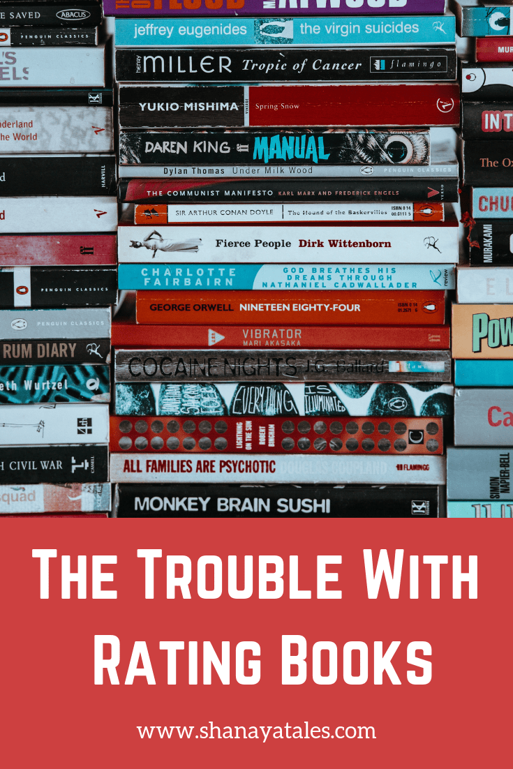 trouble with rating books