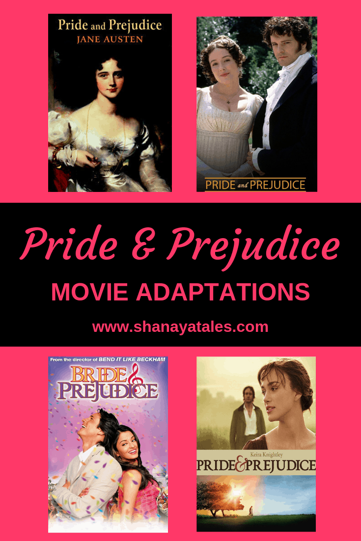 pride and prejudice movie adaptations