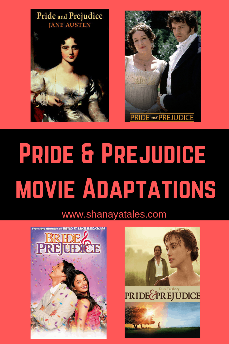 pride and prejudice screen adaptations