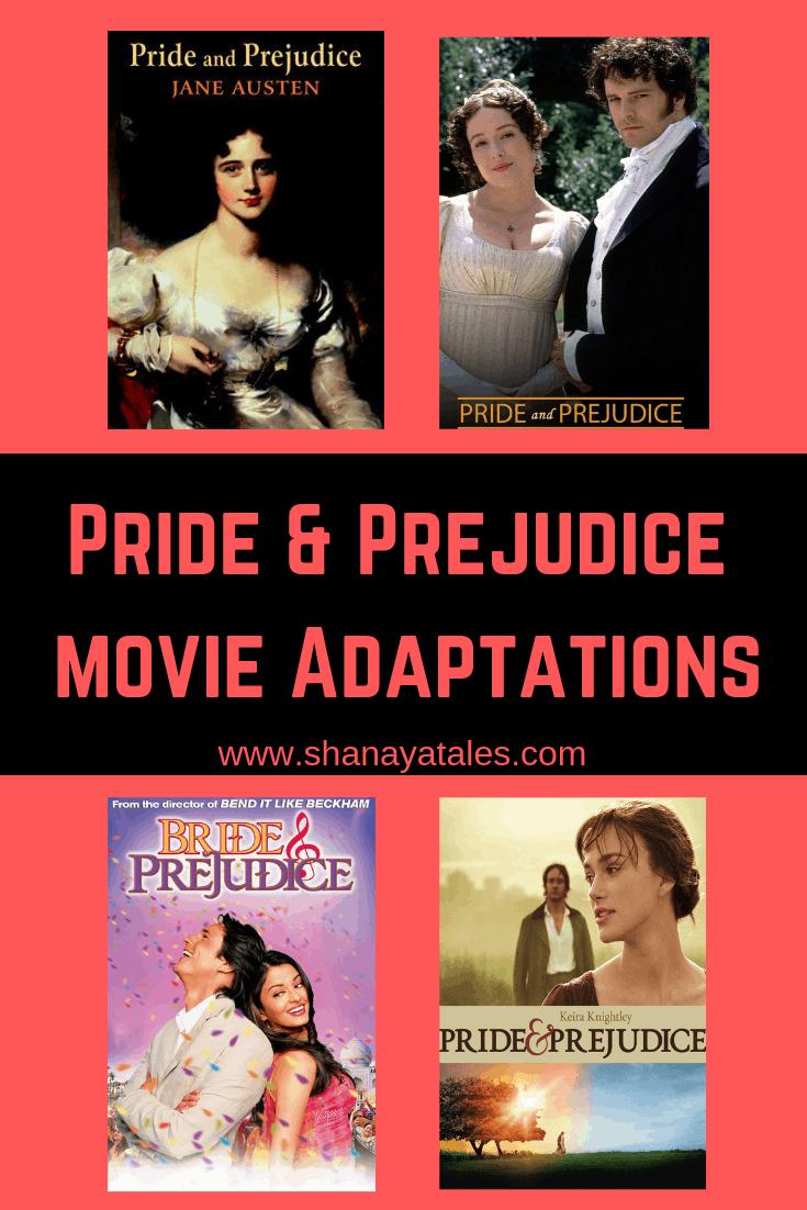 pride and prejudice screen adaptations