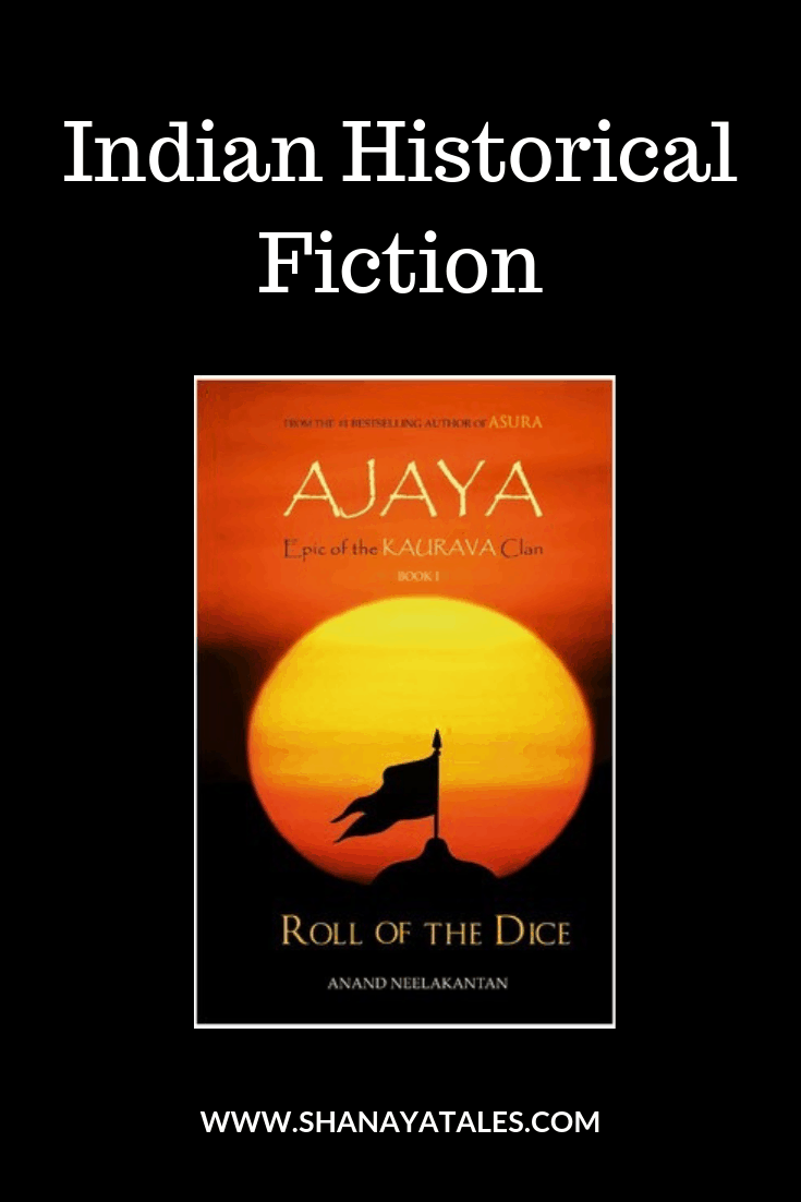 ajaya by anand neelakantan book cover and text