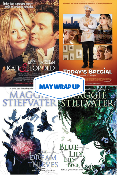May Wrap Up (Books and Movies) #FridayReads