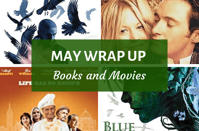 may wrap up - books and movies