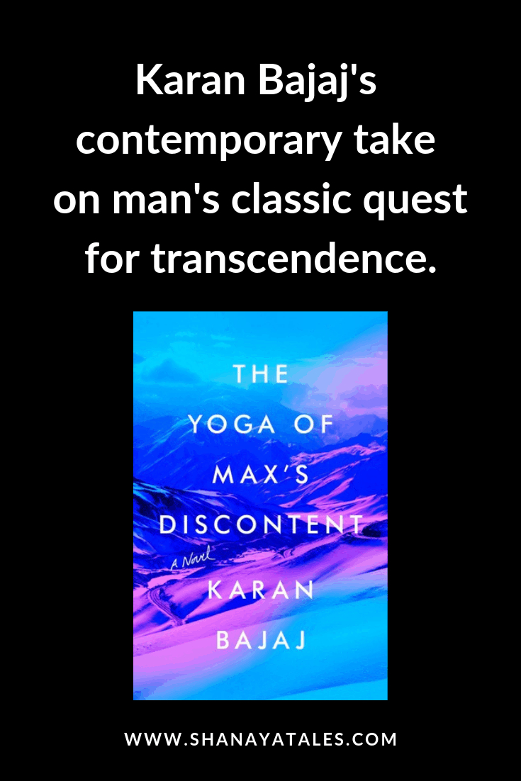 yoga of max's discontent book cover and text