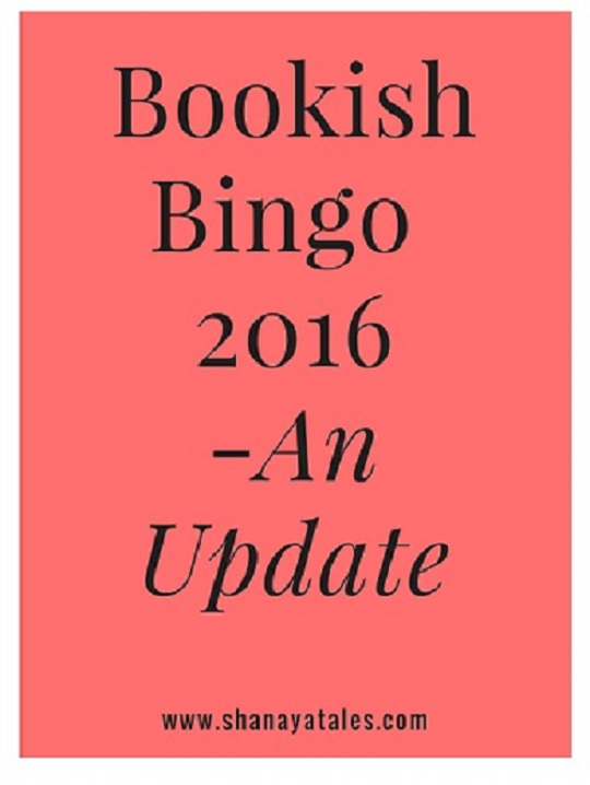 Reading Goals and Bookish Bingo – An Update