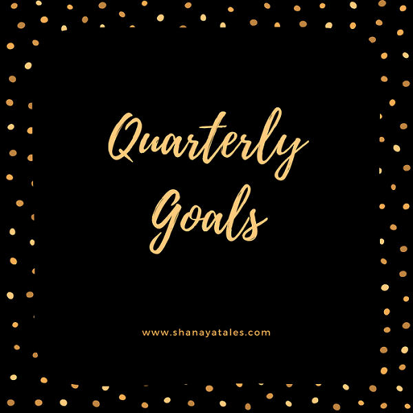 Quarterly Goals Update (Jan – Mar 2017)