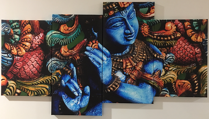 Krishna-Canvas-Panel-Painting