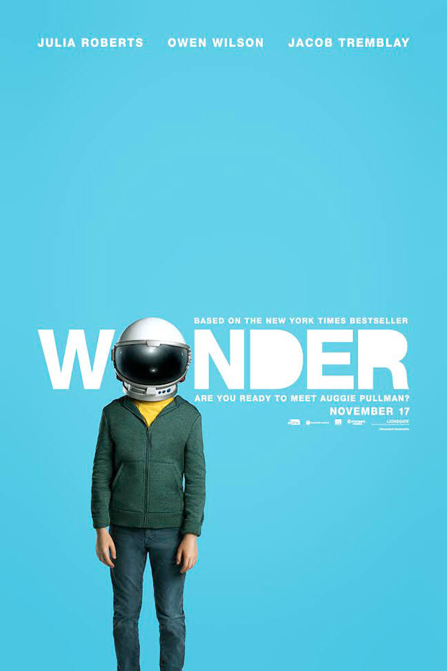 Wonder by R. J. Palacio – Movie Review