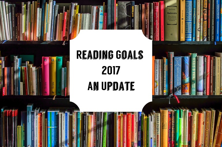 Reading Goals for 2017 – An Update