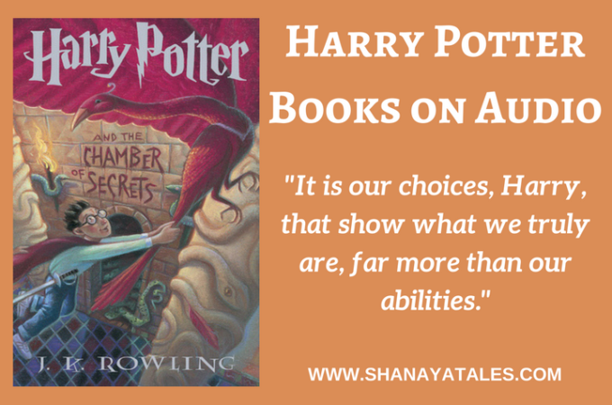 Harry Potter and The Chamber of Secrets – Audiobook Review