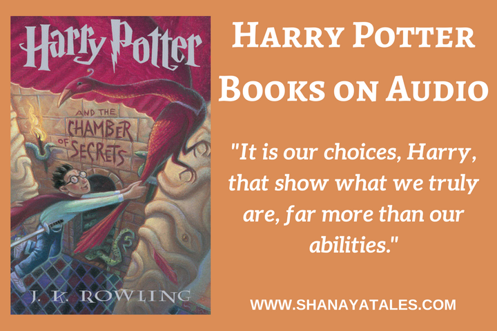 Have you heard Harry Potter Books on Audio? If not, then you must. Visit the link to read my thoughts on them.