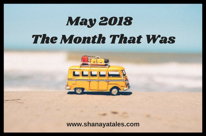 Bus on a Beach - May 2018 - The Month That Was