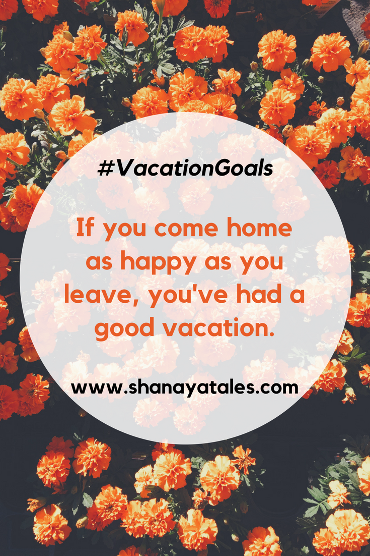 Image Quote - Vacation Goals