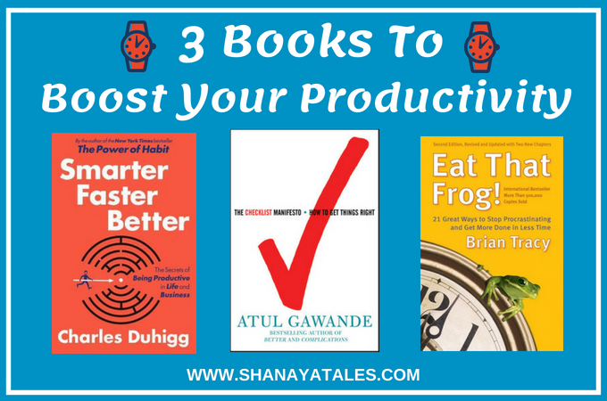 3 Books to Boost Your Productivity | Productivity Book Recommendations