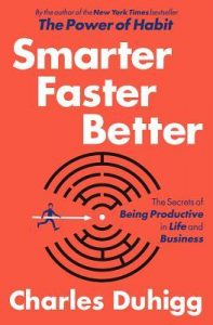 smarter faster better book cover