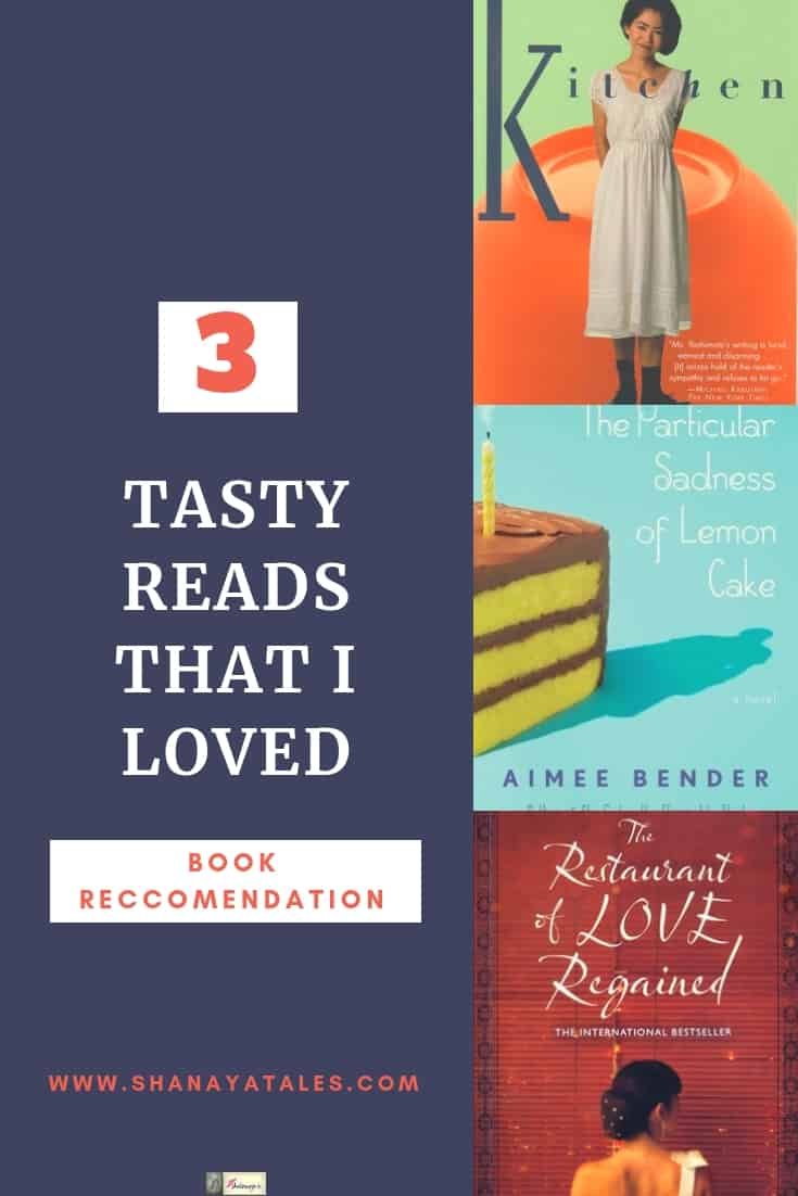 3 books about food
