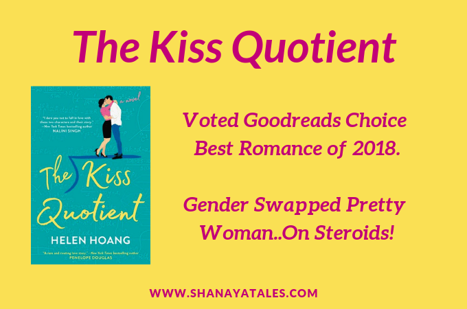 The Kiss Quotient by Helen Hoang – A New 5 Star Romance