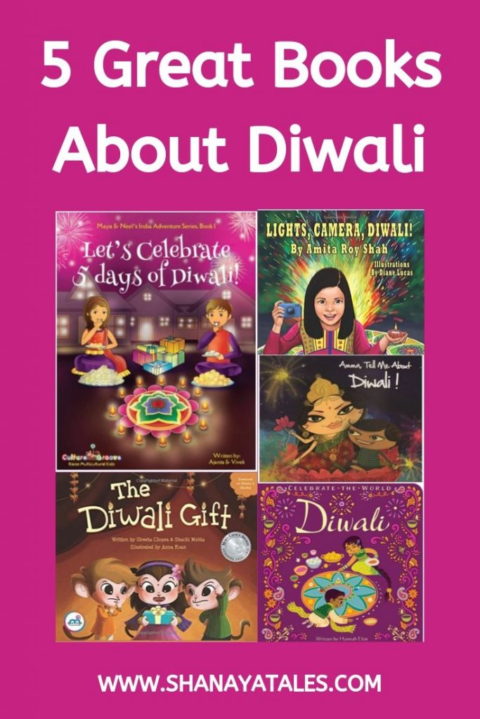 image of books about diwali