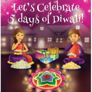 let's celebrate 5 days of diwali book photo
