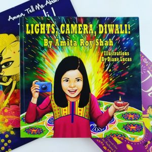 lights camera diwali book photo
